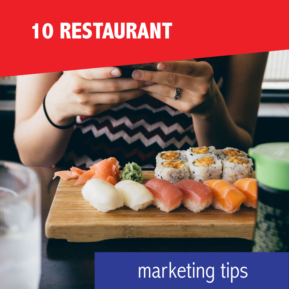 10 restaurant marketing tips